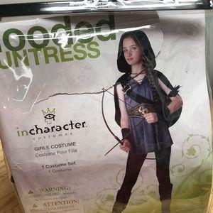 Hooded Huntress Halloween costume